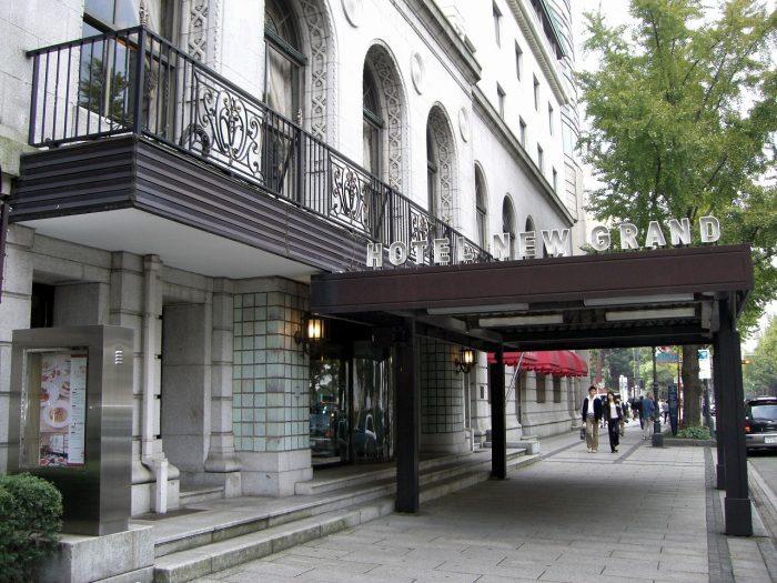 ヨーロピアン調の建物は1992年に「横浜市歴史的建造物」に指定された