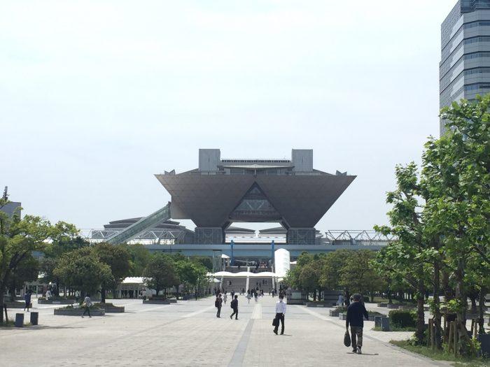 会場となった東京ビッグサイト