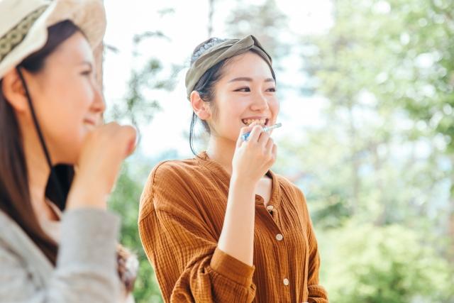 白くツルツルの歯をキープする方法